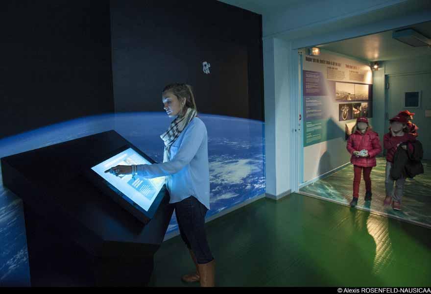 Ecran-public-expo Ocean et climat-A-Rosenfeld