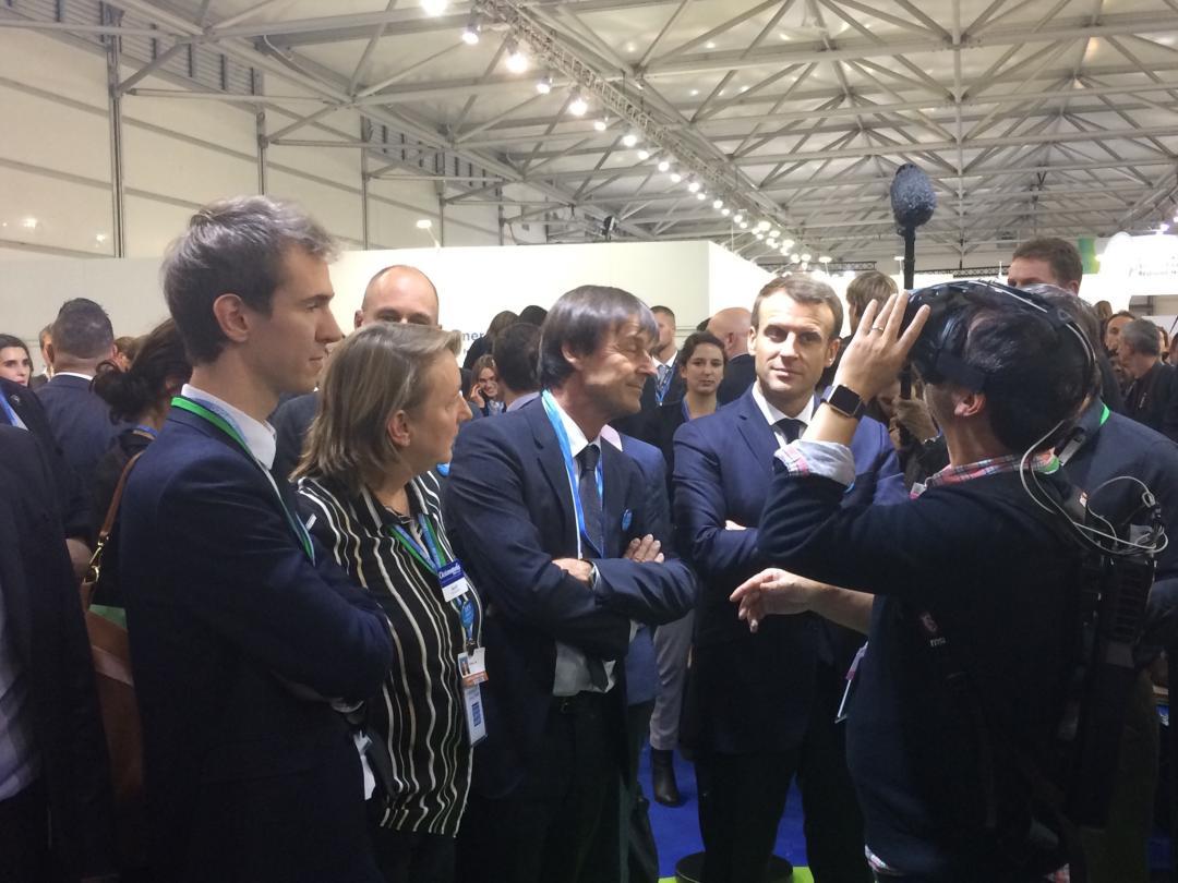 Decouverte-Arctic2100-Oceanopolis_President-Macron_2